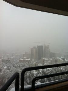 سه شنبه برفی ابانی