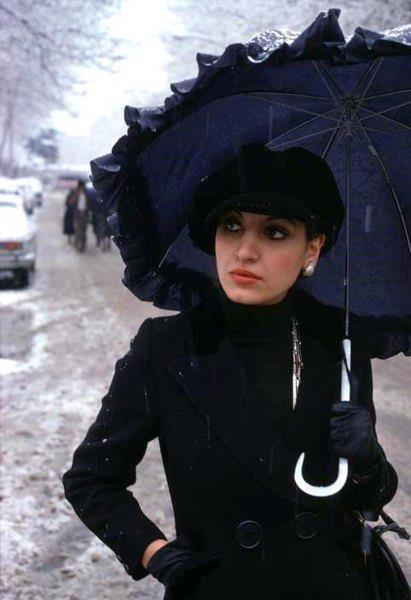 اواخز دهه پنجاه تهران خیابان ولیعصر
